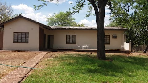 Farmhouse stay, bush camping, Vic Falls transport