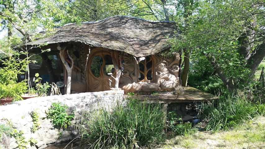 The hobbit house - unique, quirky and cosy.