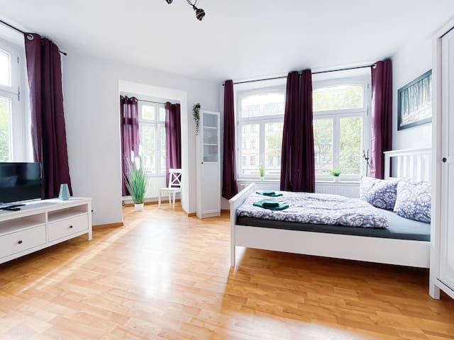 ❤Top Apartment in Plagwitz neben Karl-Heine-Kanal❤