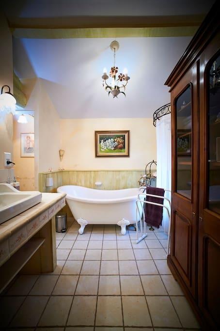 salle de bain la roseraie