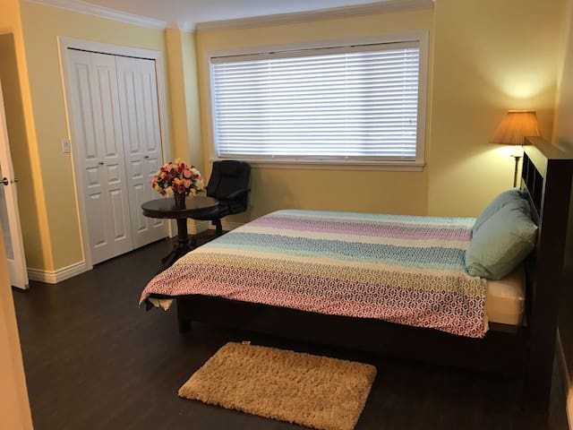 Beautiful, spacious, clean, fully furnished room - Delta - Casa