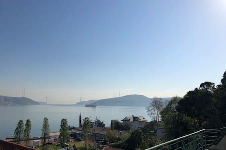 Istanbul Loft with Bosporus view