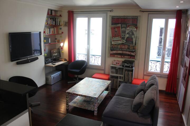Lovely Flat in Montmartre