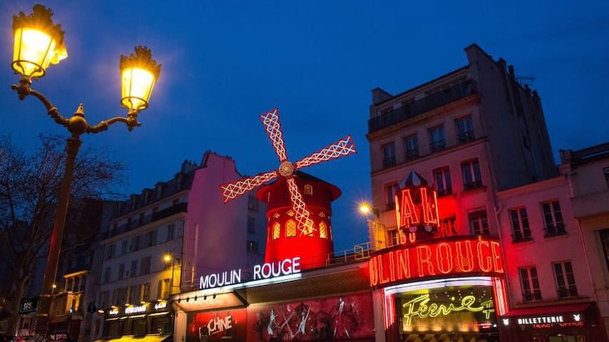Cozy flat near the Moulin Rouge