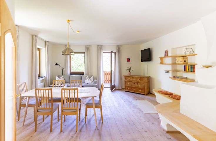 Large apartment - panoramic view - at ski area