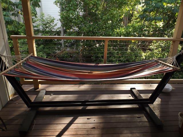 The hammock awaits