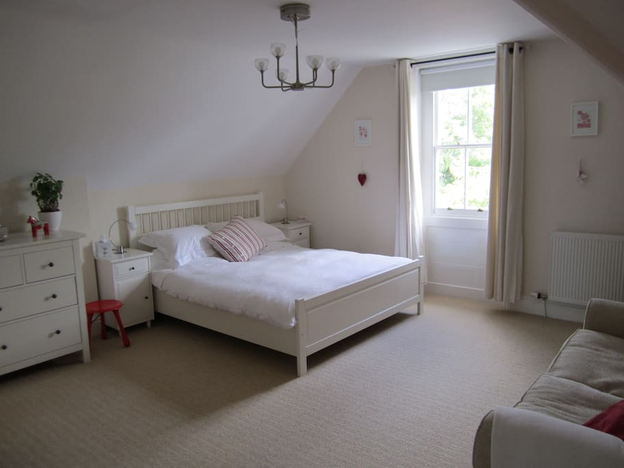 This is the guest bedroom which includes ensuite bathroom.