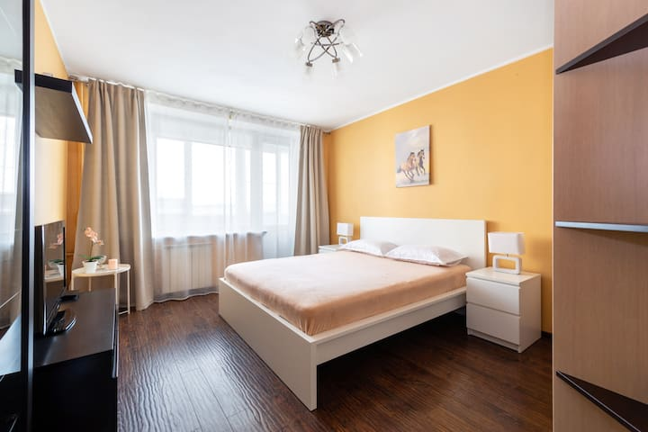 Апартаменты Moskva4you м. Фрунзенская