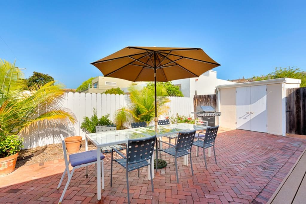 Welcome to the stellar Front Patio of Sand Patch!