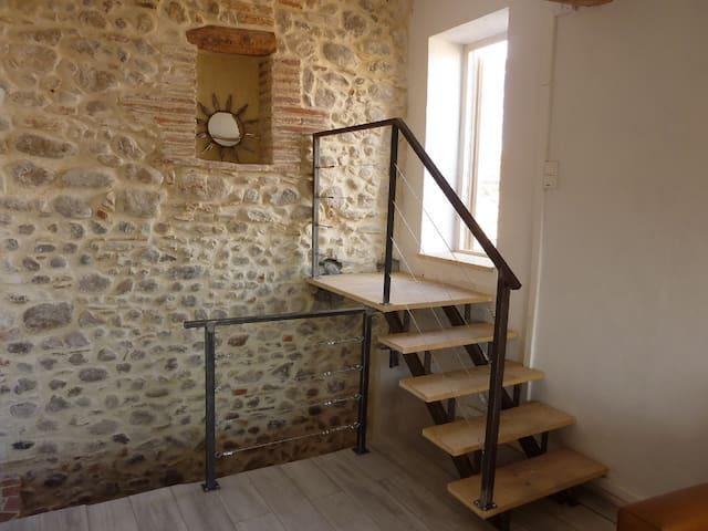 Maison rénovée avec toit-terrasse, vues superbes! - Banyuls-dels-Aspres