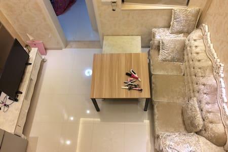 1室2厅1厨2卫1阳台欧式风格复式公寓核心商业地带 - Foshan - Lejlighed