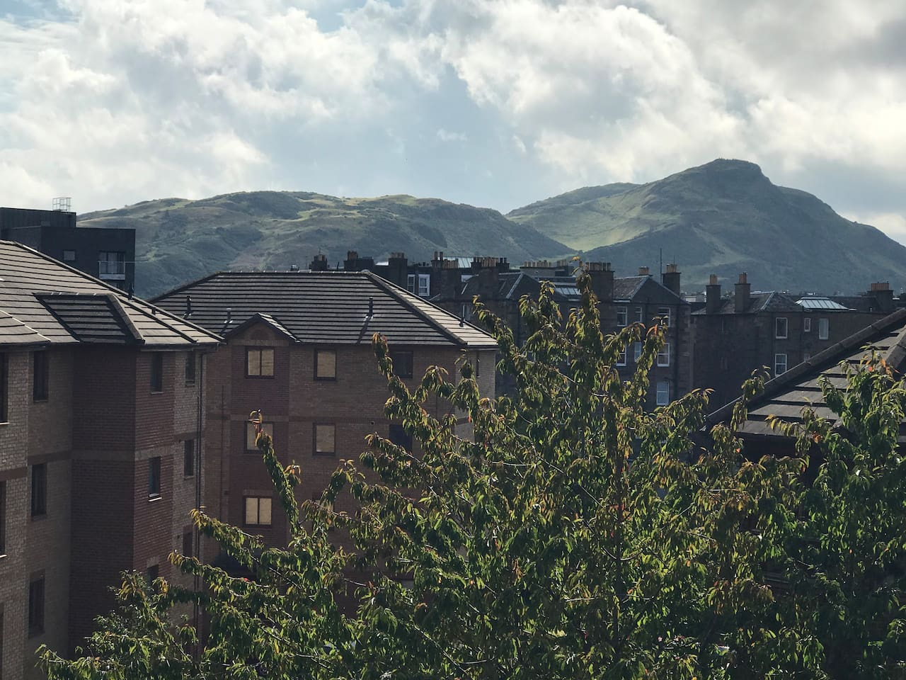 Arthur Seat - View from Living Room