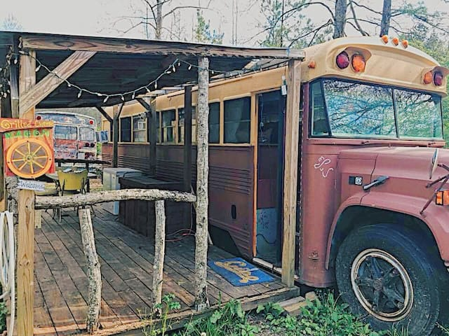 Rustic Americana Retreat on Wheels