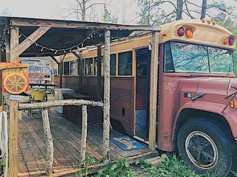 Rustic Americana Retreat on Wheels