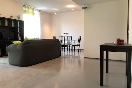 Bright Apt.in the Center with Private Car Parking