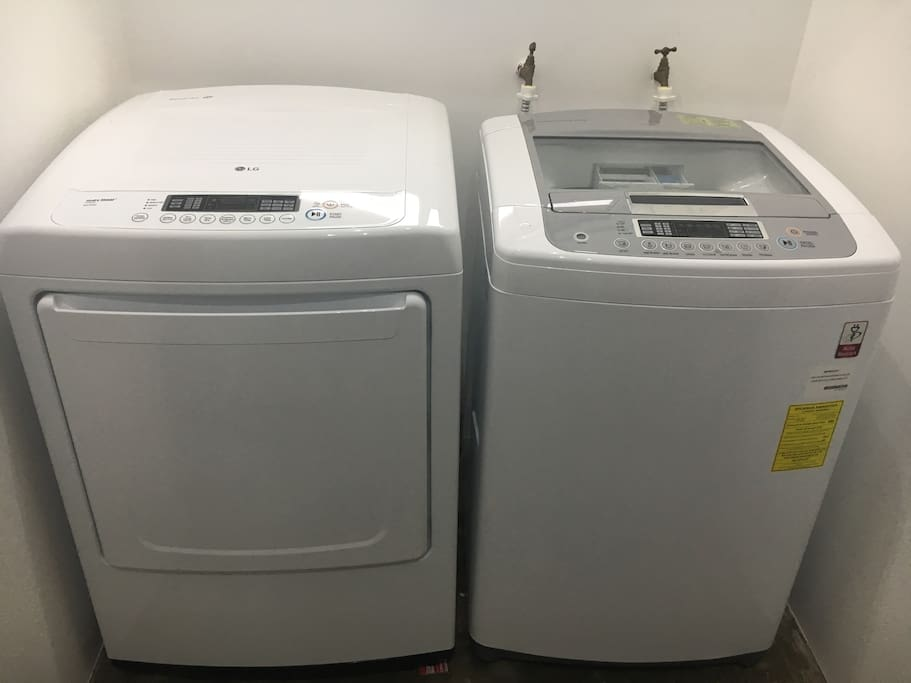 Washer and Dryer - main floor