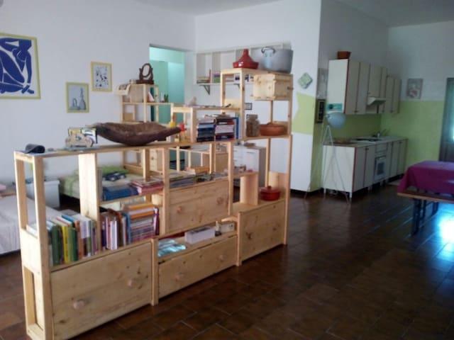 Sardegna Sinis,ampio loft per gruppi o famiglie