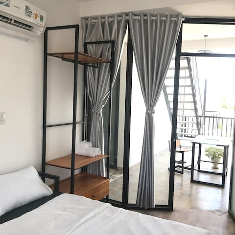 Nhà Nắng - Private room 1 double bed