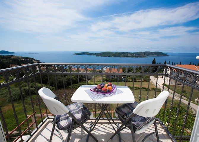 Helene I Stunning Sea View - Orašac - Apartamento