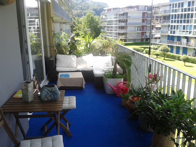 Suntrap room in convinient 90qm Appartment - Winterthur - Huoneisto
