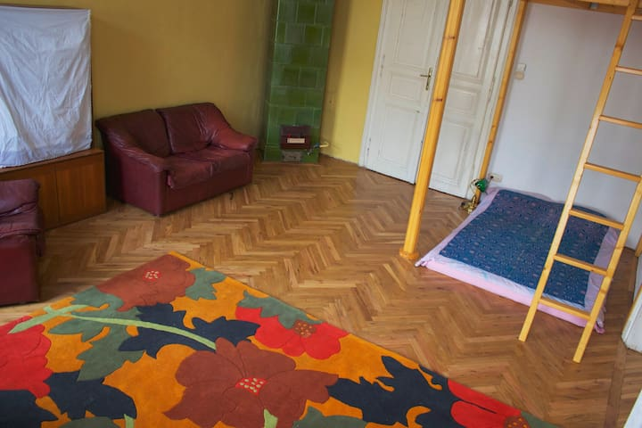 Room for rent in artistic neighbourhood. - Budapeşte - Daire
