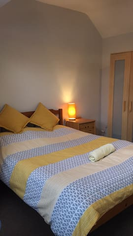 Nice Double bedroom at loft next to city centre!