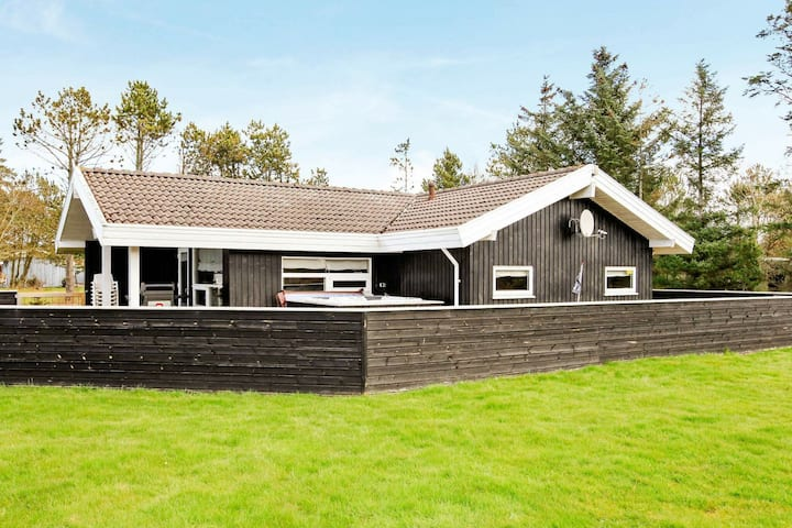 Luxurious Holiday Home in Saltum with Roofed Terrace