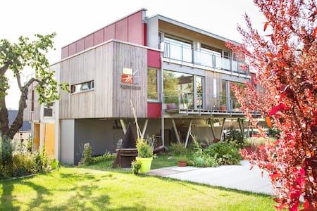 Lichtdurchflutetes, modernes Doppelzimmer - Zeulenroda-Triebes - Guesthouse