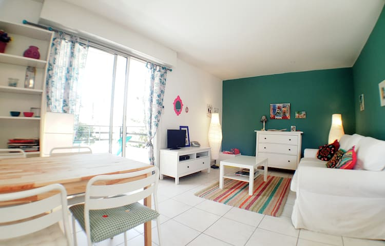 CHARMING APARTMENT WITH BALCONY - MAZARGUES - Marseille - Apartment