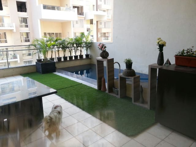 5000 Sq Ft Flat with a Plunge Pool - Pune - Appartement