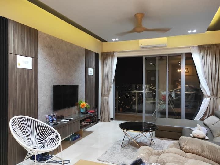 高级公寓房间日租