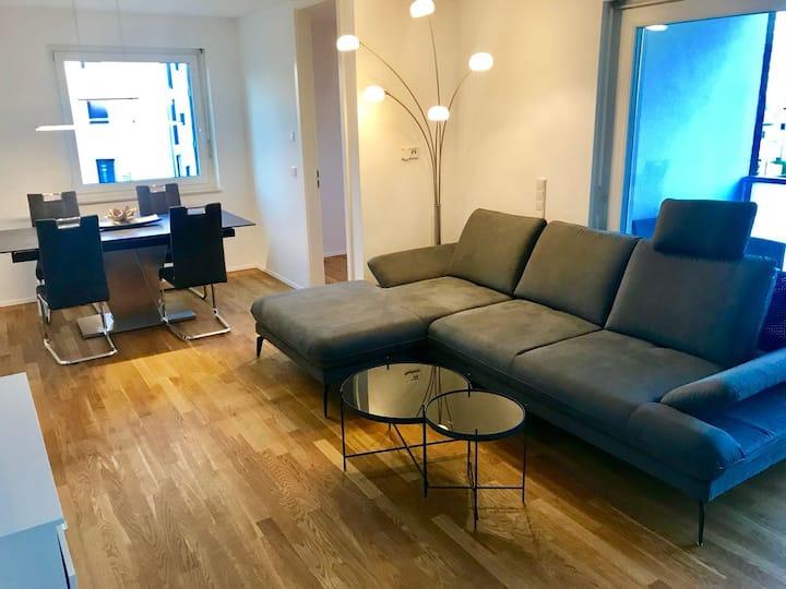 Wohnung auf dem Riedberg mit Luxusausstattung