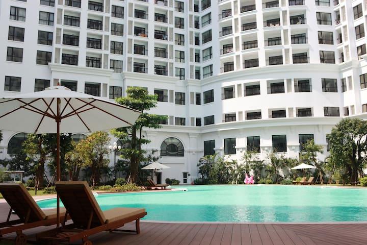 Cozy APARTMENT 3 Bedrooms @ ROYAL CITY - Hanoi - Appartement