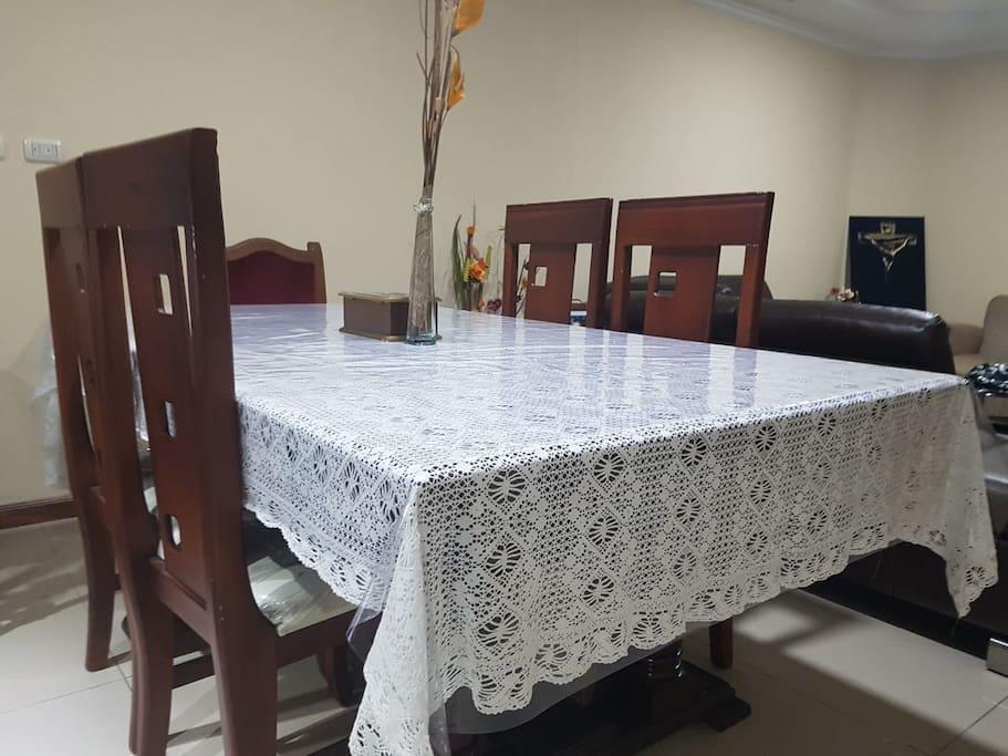 Comedor para 4 personas