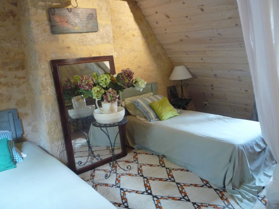 "Chambre ""fougere"""
