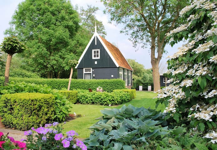 A cozy cottage near Amsterdam and Alkmaar - Graft - Chatka