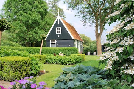 A cozy cottage near Amsterdam and Alkmaar