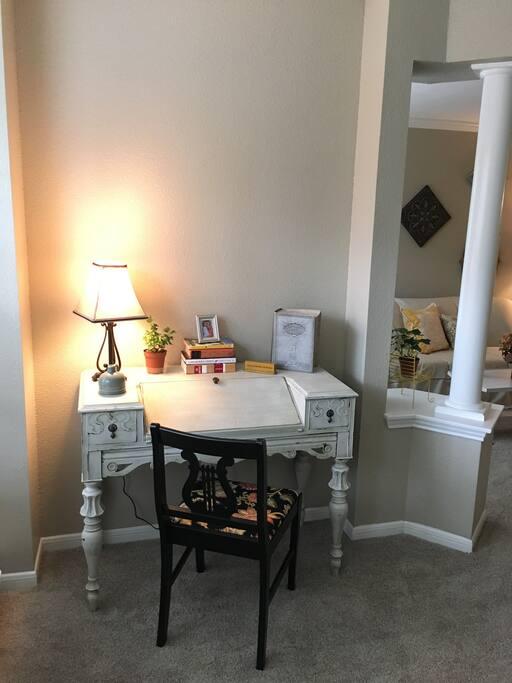 Roomy work space