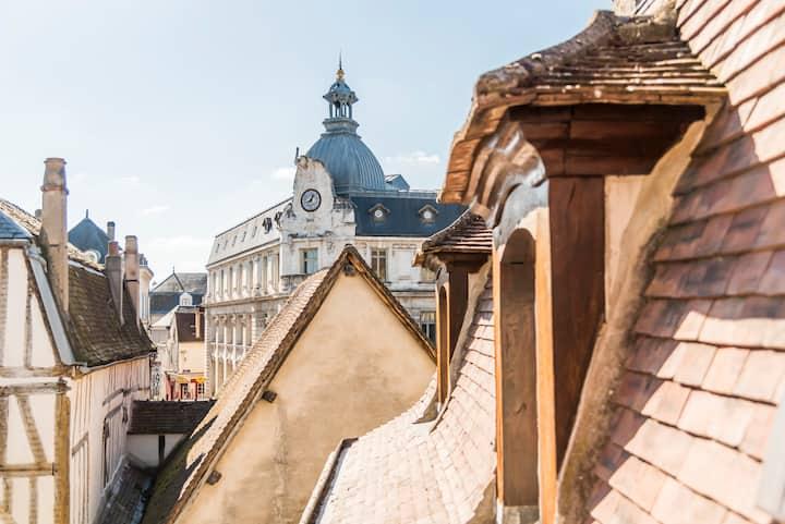 Les Toits d'Auxerre appartement de 104 m2