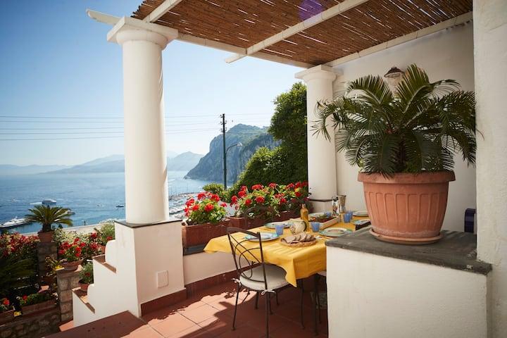 Casa Panoramica Capri con Jacuzzi