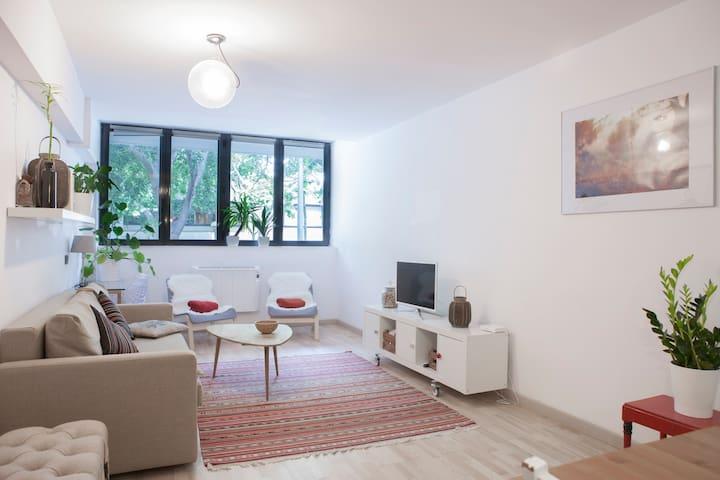 MIKs spacious 1 bedroom apartment near the beach