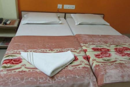 Stay for two members in Gachibowli - Hyderabad