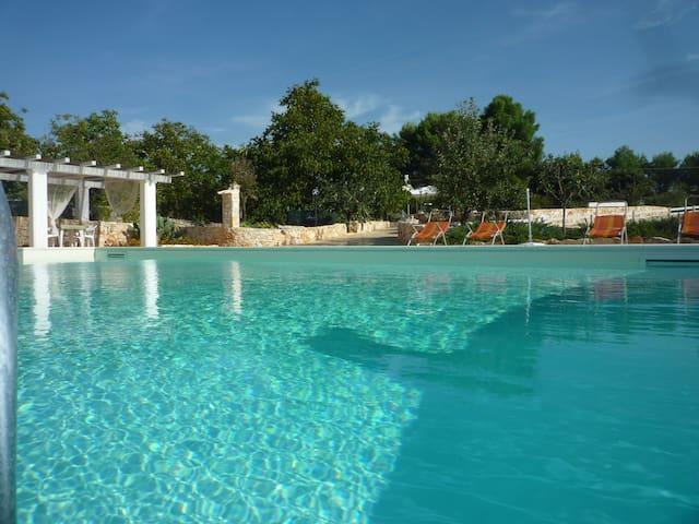 Trullo con piscina....una fiaba! - Martina Franca - Apartment