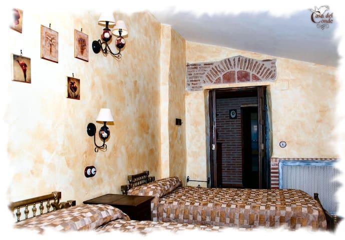 Casa Rural. Dos habitaciones dobles