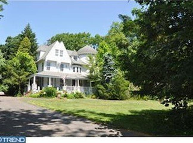 Charming Historic Landmark - The Vine Room - Wyncote - House