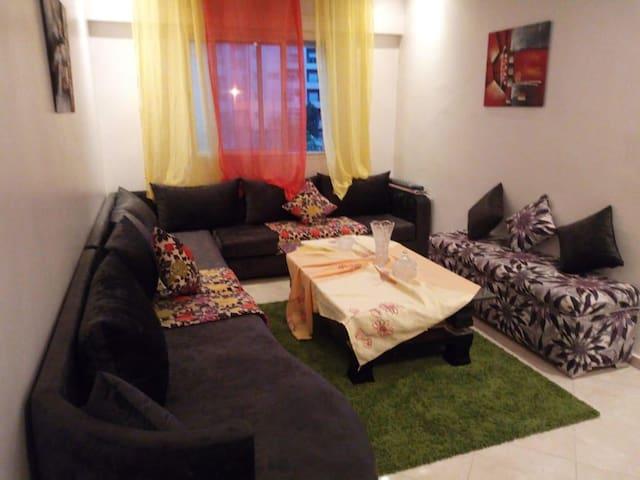 Bel appartement à temara