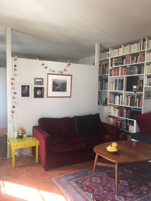 le salon ** the living room