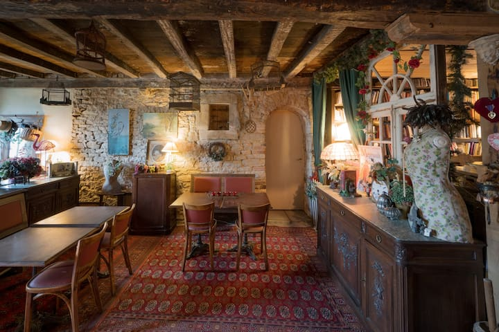 Les Etangs d'Arts : Cosy B&B breakfast included