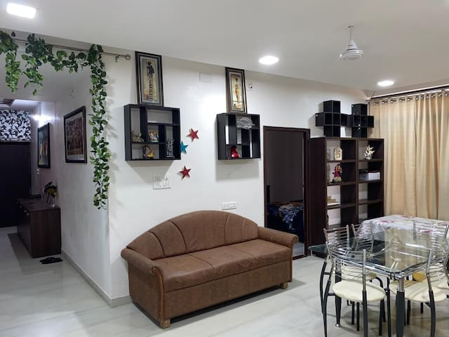 4BHK spacious fully furnished flat