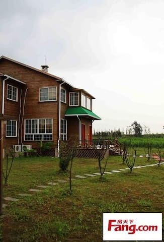 崇明农家乐--番茄农庄度假小木屋 - Shanghai - Kabin